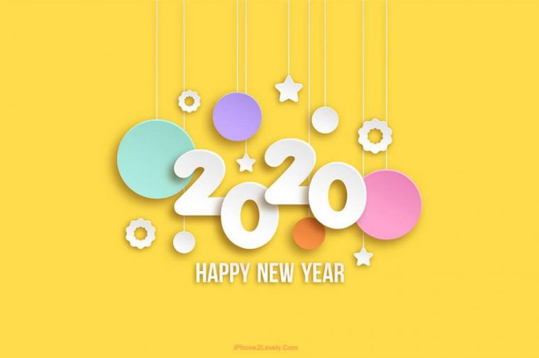 80 Happy New Year Wallpapers 2020 to Wish   iPhone2Lovely