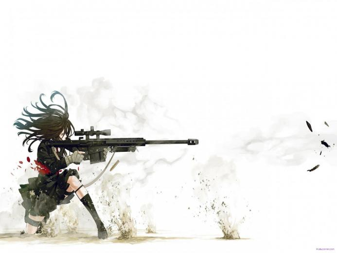 of anime sniper wide beauty anime sniper wide hd wallpaper wallpaper