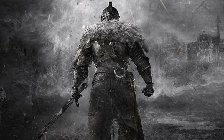 Knight Medieval Sword Dark Souls fantasy wallpaper 1920x1200 80533