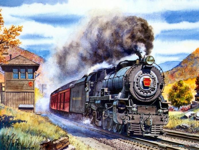 Howard Fogg 036 Pennsylvania K4 Steam Locomotive 5471