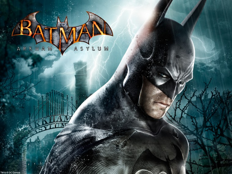 Arkham City Asylum HD Wallpaper HD Video Game Desktop Wallpapers DVD