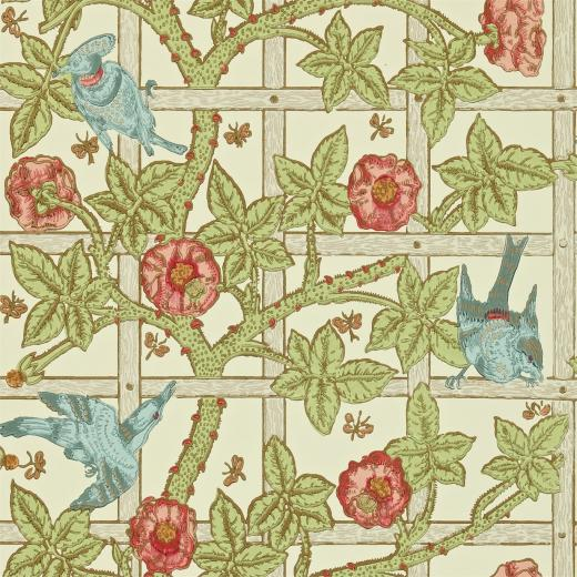 and Wallpapers Trellis DMCW210487 Morris Wallpaper Compendium II