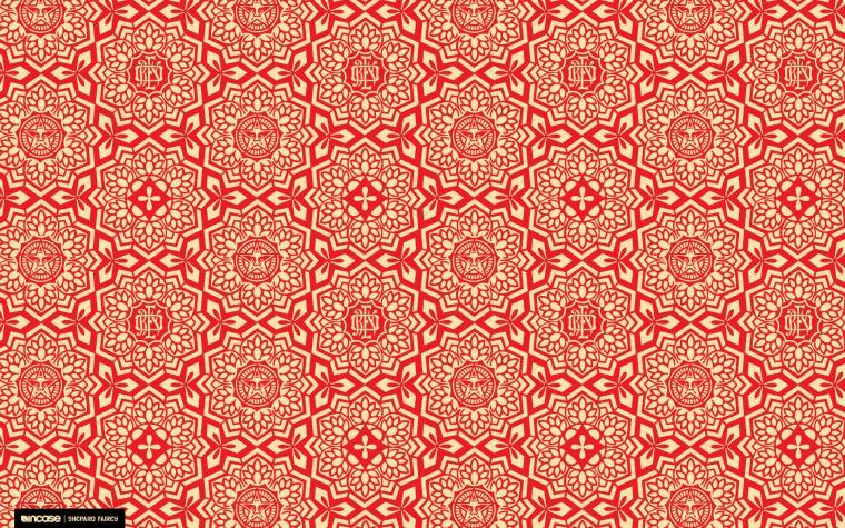 Red obey shepard fairey incase wallpaper 1920x1200 16943