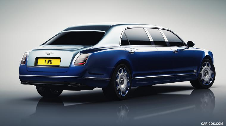 2016 Bentley Mulsanne Grand Limousine by Mulliner   Rear Three