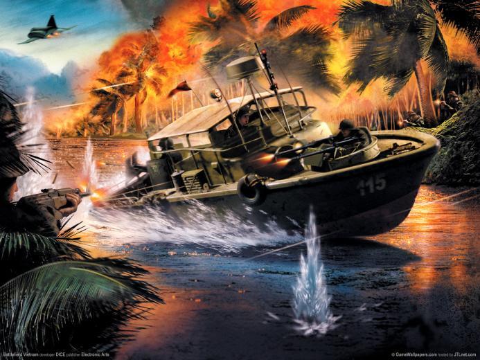 1600x1200 Battlefield Vietnam desktop PC and Mac wallpaper