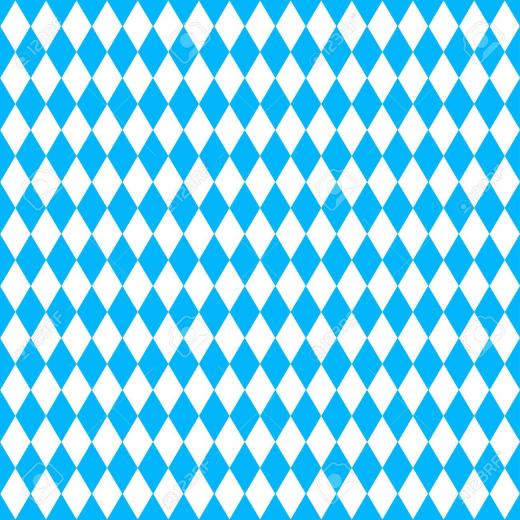 Oktoberfest Background With Blue Rhombus Royalty Cliparts