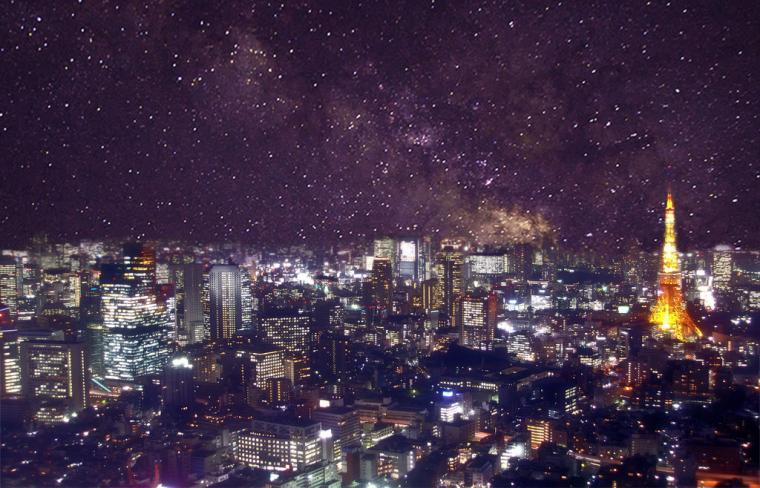 Tokyo at night wallpaper by MasterRoshii