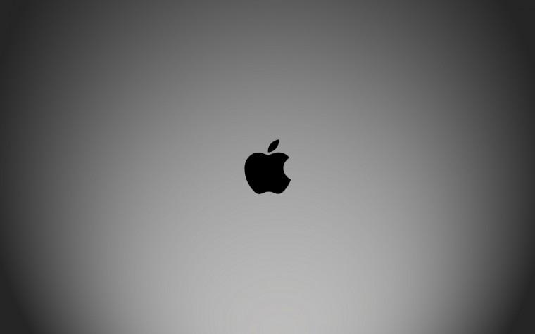 Wallpaper apple black white HD Desktop Wallpapers