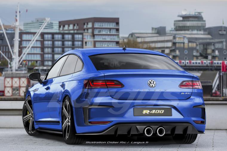 Volkswagen Arteon Shooting Brake 2019 la VW Arteon soffre un