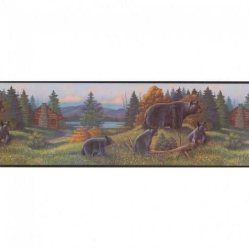 Lake Forest Lodge Black Bear Border