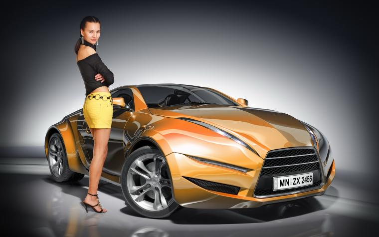 Car And Girl Wallpaper Nice Background Car Wallpapers