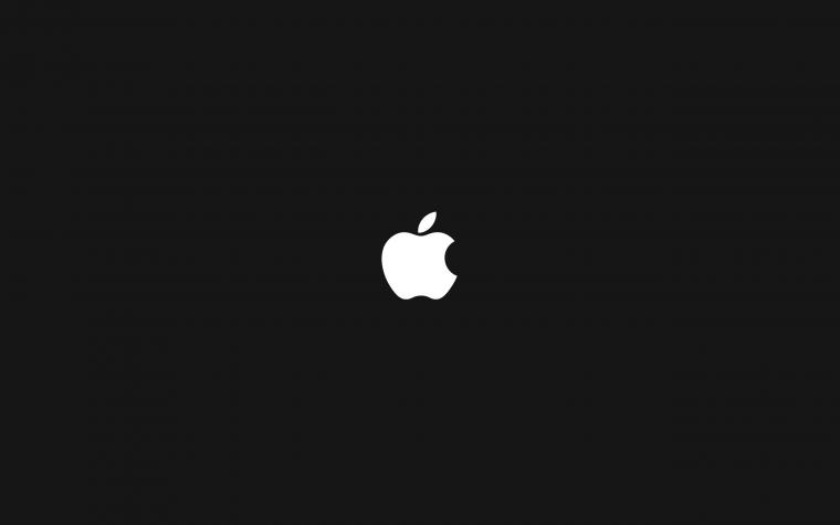 Apple Black and White Wallpapers 3535   Amazing Wallpaperz