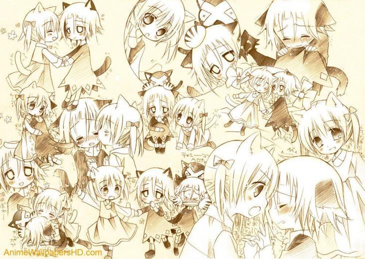Neko wallpaper