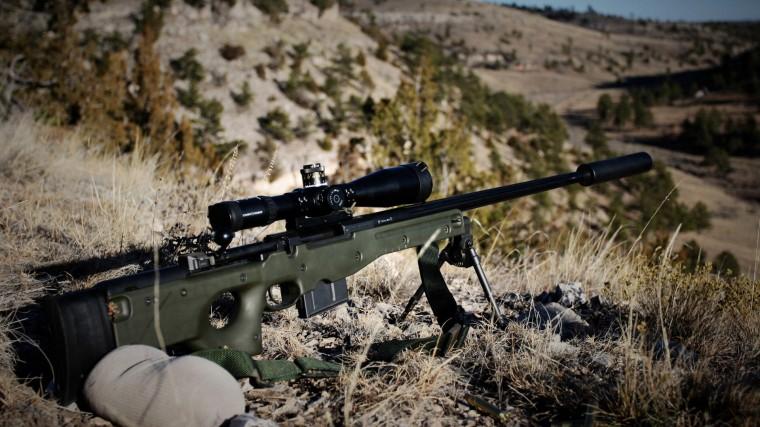 L96A1 sniper rifle Wallpapers HD Wallpaper Downloads