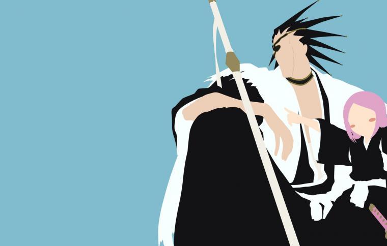 Wallpaper demon sword white game Bleach devil grey anime