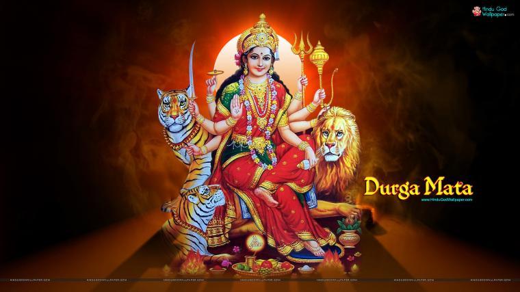 Goddess Durga HD widescreen Wallpaper Download