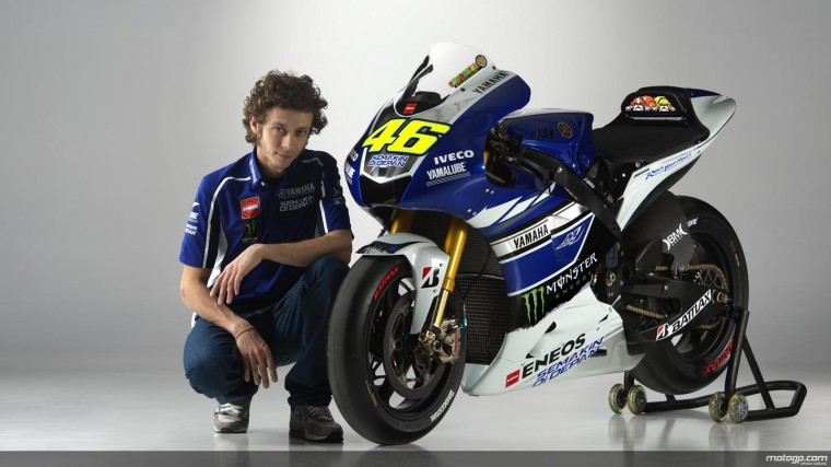 Valentino Rossi 2013 Yamaha Wallpaper HD ImageBankbiz