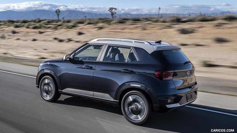 2020 Hyundai Venue   Rear Three Quarter HD Wallpaper 2