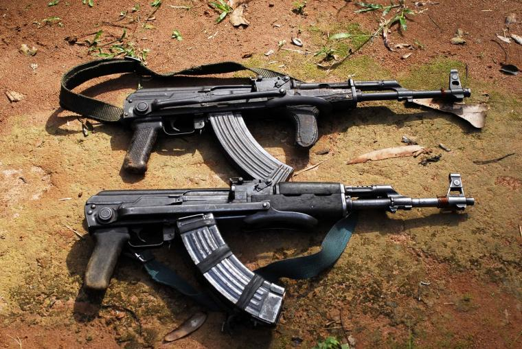 guns and ammo AK 47 russian ak 47 kalashinkov gold ak 47