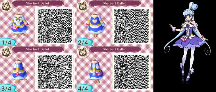 Animal Crossing QR Codes Sherbet Ballet by SuperAngel502 on