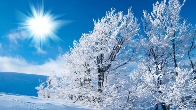 Desktop Wallpaper Winter Great World