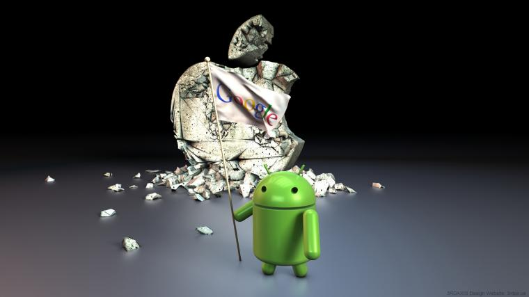 Pics Photos   Best Apple Vs Android Hd Wallpapers