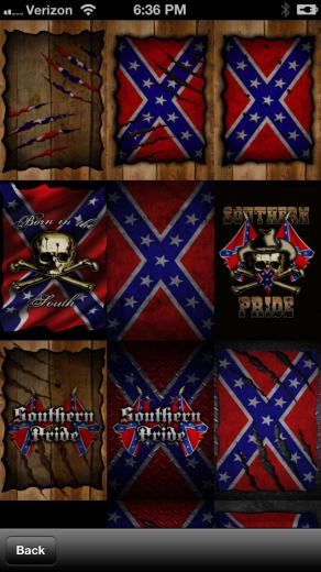 Southern Pride Rebel Flag WallpaperLifestyle   iPhoneiPad App