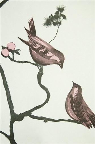 Wallpaper Bird Design   Kitchen Wallpaper   Decorate Your Kitchen From