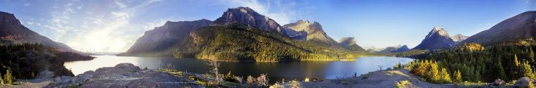 Park Montana National Parks nature photography panoramic screensaver