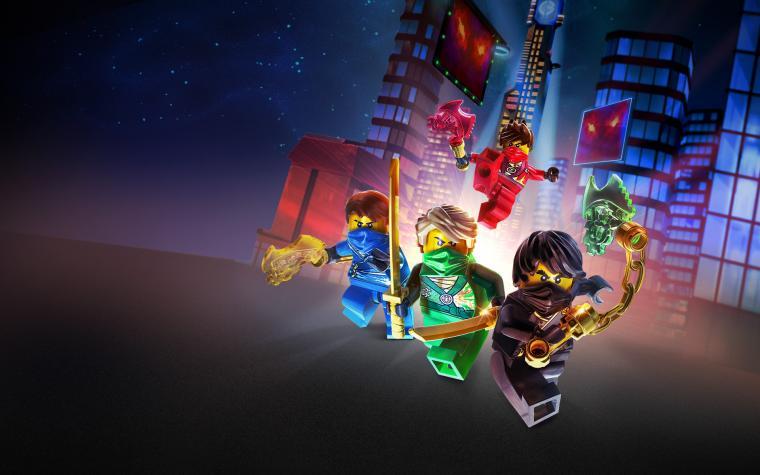 Lego Ninjago Characters Zoom Background