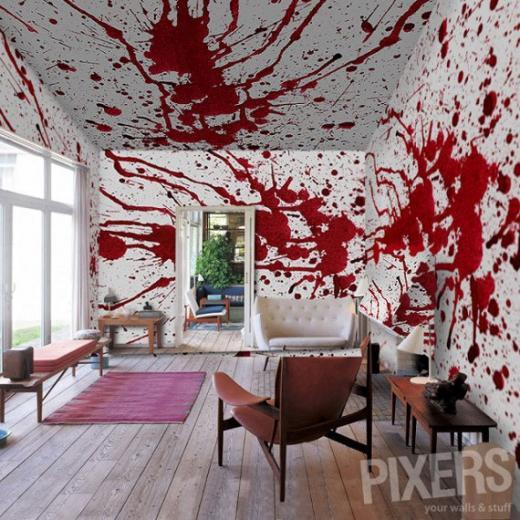 photo wallpaper murals created by online interior design store PIXERS