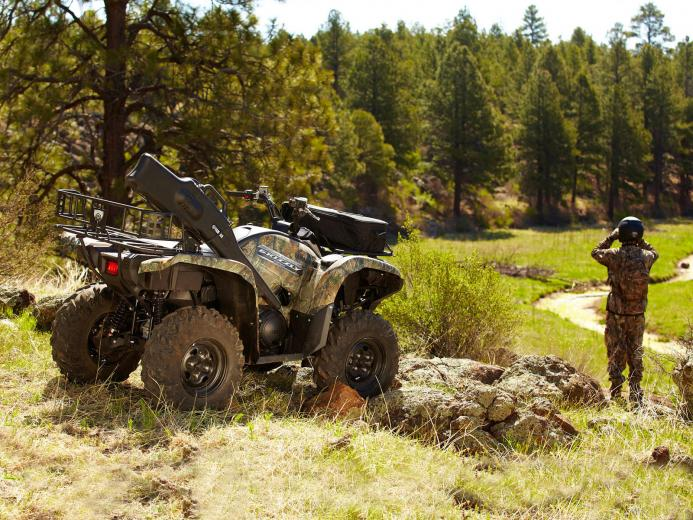 2012 YAMAHA Grizzly 550 FI Auto 4x4 EPS ATV pictures review