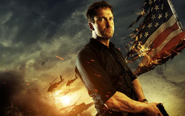 Gerard Butler In Olympus Has Fallen   Wallpaper High Definition High