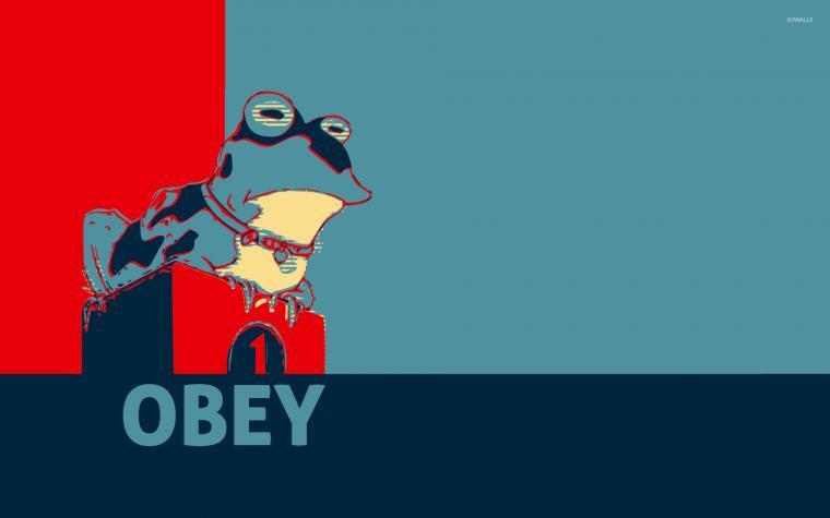 Obey wallpaper   Vector wallpapers   28683