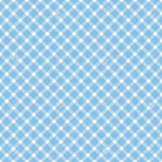 Oktoberfest Background With Seamless Blue White Checkered Pattern