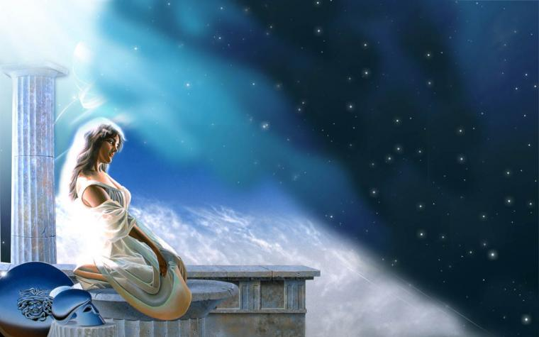 Legends Athene Greek Goddess Athena Character wallpaper 1280x800