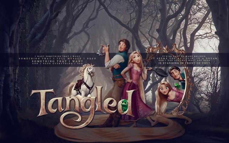 Tangled Wallpaper   Tangled Wallpaper 30575278