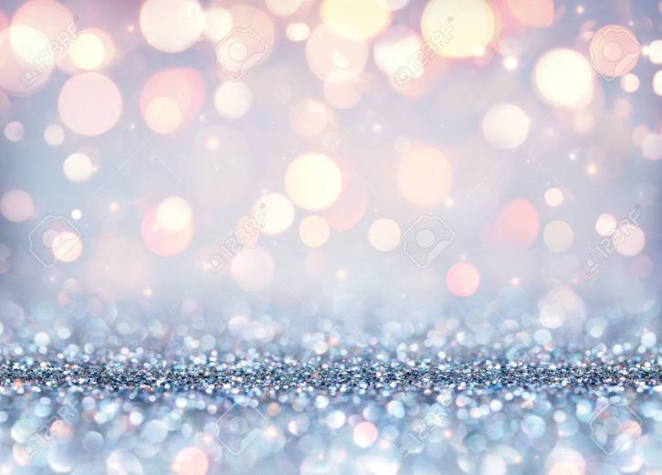 Glittering Effect For Luxury Christmas   Shining Background Stock