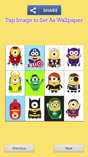 Cute Superheroes Wallpaper Cute minions superheroes app