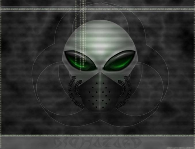 XP wallpaper windows wallpaper alien face