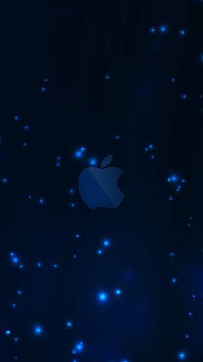 Apple blue wallpapersc SmartPhone