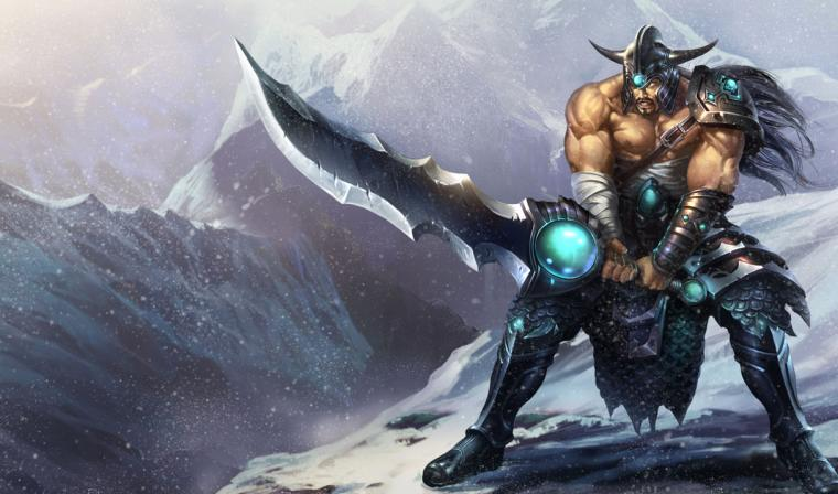 thumbs tryndamere Tryndamere the Barbarian King