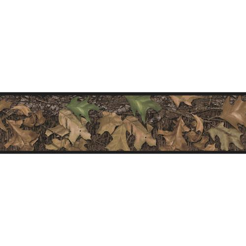 RoomMates Mossy Oak Camouflage Peel and Stick Border   Walmartcom