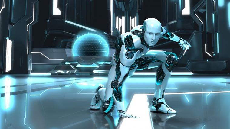 Retro Robot Wallpaper Backgrounds