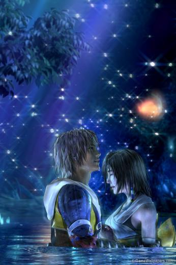 Download for iPhone games wallpaper Final Fantasy X