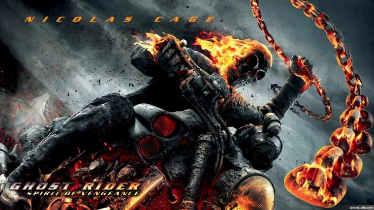 Ghost Rider 2 Spirit of Vengeance Wallpaper Graphic and Vector