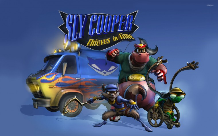 Sly Cooper Thieves in Time wallpaper   Game wallpapers   17526
