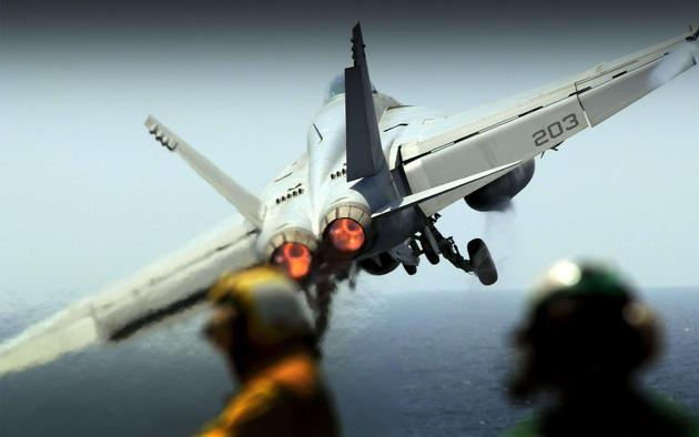 Daily Wallpaper F 18 Carrier Takeoff I Like To Waste My Time