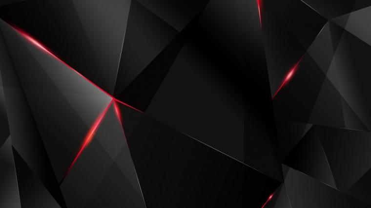 1366x768 Abstract Dark Geometry desktop PC and Mac wallpaper