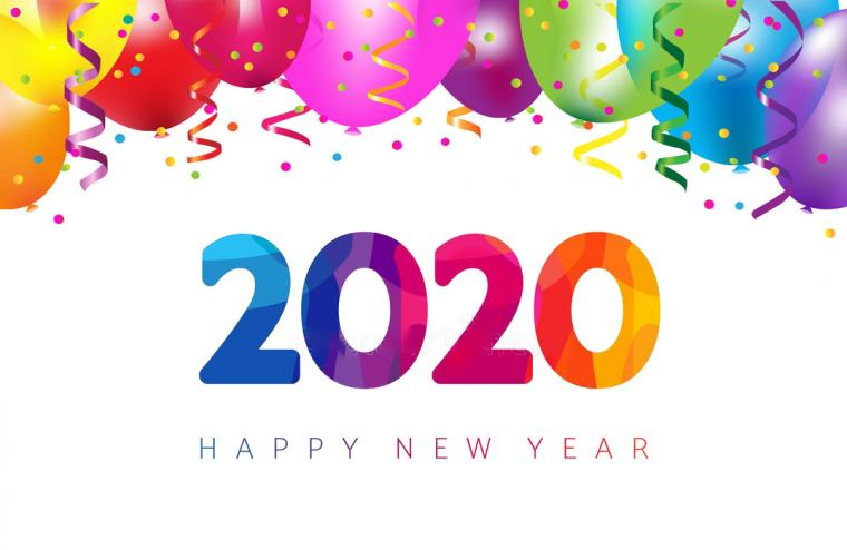 Happy New Year 2020 Images HD Wallpapers Download